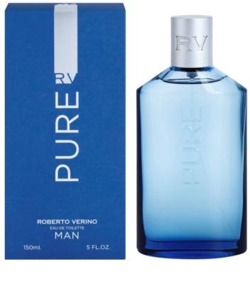 Roberto Verino Pure Man Eau de Toilette para homens