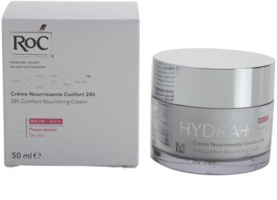 RoC Hydra+ nährende Crem für trockene Haut 2