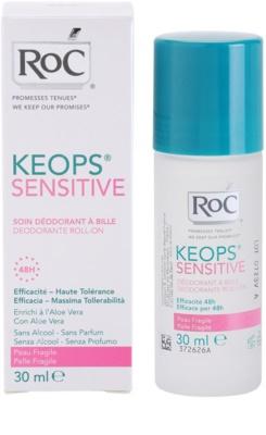 RoC Keops Sensitive dezodorant roll-on pre citlivú pokožku 4