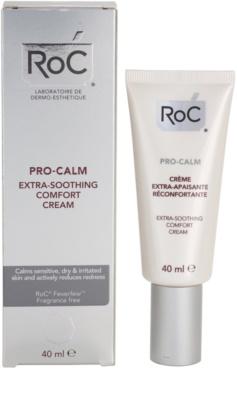 RoC Pro-Calm die beruhigende Creme für trockene Haut 2