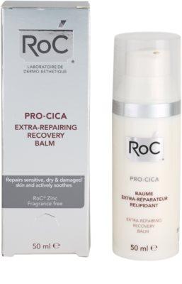 RoC Pro-Cica erneuernder Balsam für trockene und gereizte Haut 3