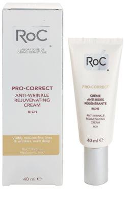 RoC Pro-Correct regenerierende Creme gegen Falten 2