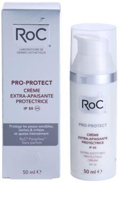 RoC Pro-Protect creme calmante e de proteção intensiva SPF 50 3