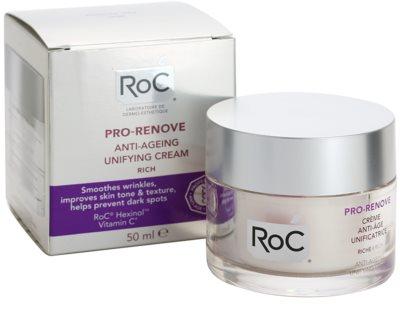 RoC Pro-Renove crema nutritiva unificadora antienvejecimiento 2