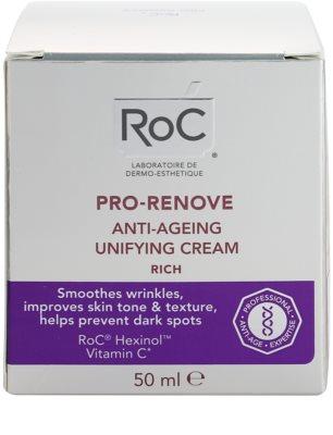RoC Pro-Renove crema nutritiva unificadora antienvejecimiento 4