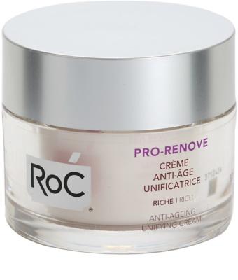 RoC Pro-Renove crema nutritiva unificadora antienvejecimiento