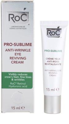 RoC Pro-Sublime Augencreme gegen Falten 2