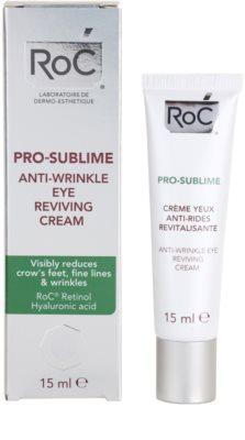 RoC Pro-Sublime крем для шкіри навколо очей проти зморшок 2