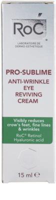 RoC Pro-Sublime крем для шкіри навколо очей проти зморшок 3