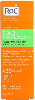 RoC Soleil Protect матуючий флюїд для засмаги SPF 30 3