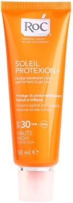 RoC Soleil Protect слънцезащитен матиращ флуид SPF 30