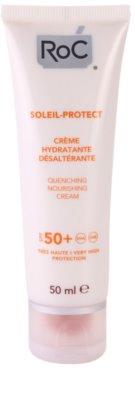 RoC Soleil Protect хидратиращ слънцезащитен крем SPF 50+
