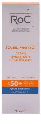 RoC Soleil Protect crema hidratante bronceadora  SPF 50+ 2