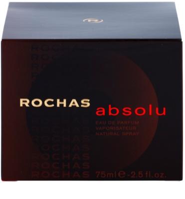 Rochas Absolu Eau de Parfum für Damen 1