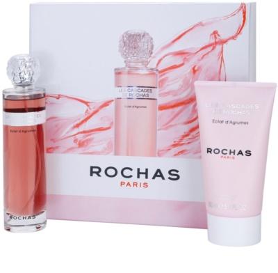 Rochas Les Cascades de Rochas - Eclat d'Agrumes zestaw upominkowy