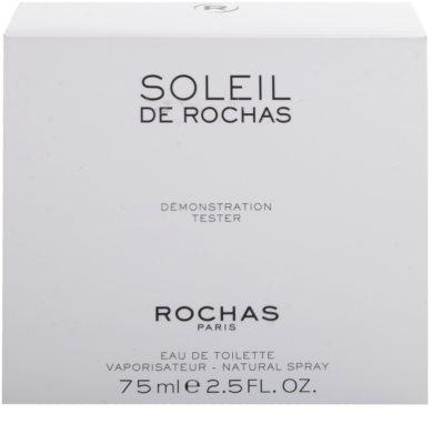 Rochas Soleil De Rochas eau de toilette teszter nőknek 3