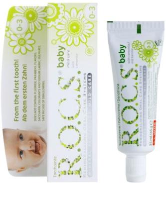 R.O.C.S. Baby Camomile дитяча зубна щітка 1