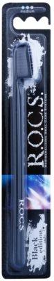 R.O.C.S. Black Edition zubní kartáček medium