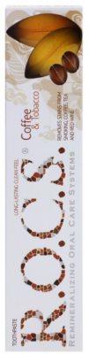 R.O.C.S. Coffee & Tobacco bleichende Zahnpasta für Raucher gegen Flecken auf dem Zahnschmelz 2