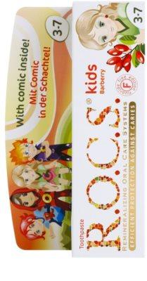 R.O.C.S. Kids Barberry zubní pasta pro děti 2
