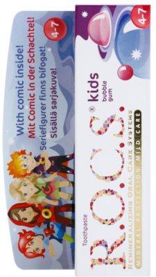 R.O.C.S. Kids Bubble Gum зубна паста для дітей 2