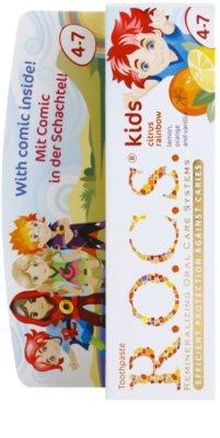 R.O.C.S. Kids Citrus Rainbow Pasta de dinti pentru copii. 2