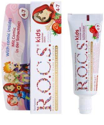 R.O.C.S. Kids Summer Swirl pasta de dentes para crianças 1