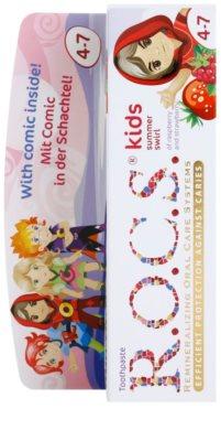 R.O.C.S. Kids Summer Swirl pasta de dentes para crianças 2