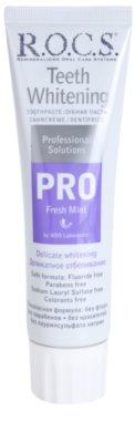 R.O.C.S. PRO Fresh Mint pasta de dinti cu efect de albire și calmare