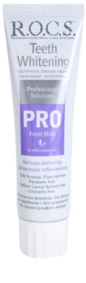 R.O.C.S. PRO Fresh Mint schonende bleichende Zahncreme