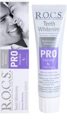 R.O.C.S. PRO Fresh Mint jemná bělicí zubní pasta 1