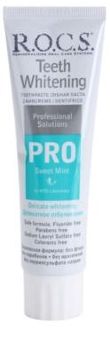 R.O.C.S. PRO Sweet Mint pasta de dientes suave con efecto blanqueador