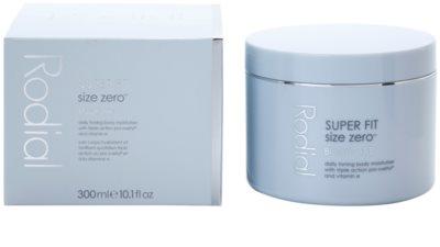Rodial Super Fit hydratační tělový krém pro zpevnění pokožky 3