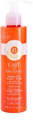 Roger & Gallet Bienfaits хидратиращо мляко за тяло за суха и чувствителна кожа