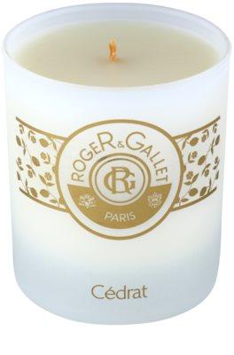 Roger & Gallet Bougie Parfumée Duftkerze 2