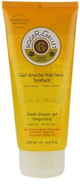 Roger & Gallet Bois d´ Orange gel de ducha refrescante