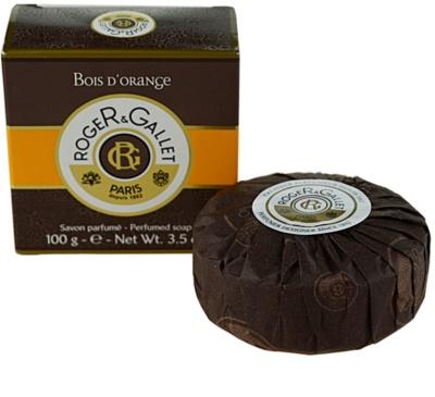 Roger & Gallet Bois d´ Orange jabón sólido en caja 2
