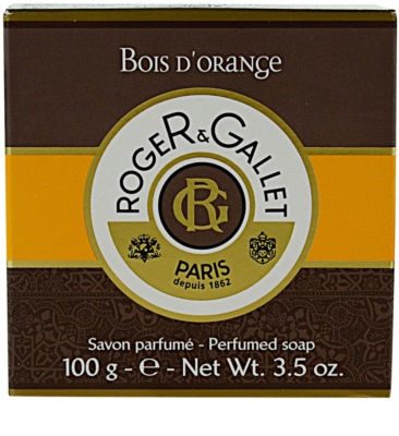 Roger & Gallet Bois d´ Orange jabón sólido en caja 3