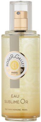Roger & Gallet Bois d´Orange Sublime Eau de Toilette pentru femei