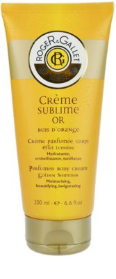Roger & Gallet Bois d´Orange Sublime creme corporal