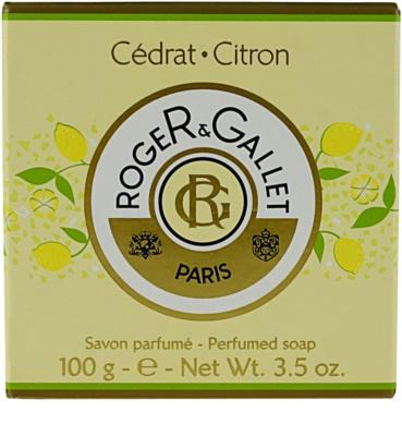 Roger & Gallet Cédrat tuhé mydlo v krabičke 2