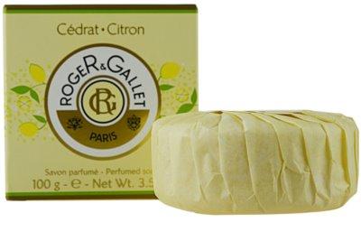Roger & Gallet Cédrat tuhé mydlo v krabičke 3