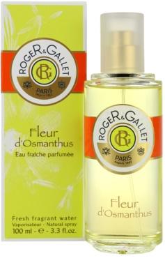 Roger & Gallet Fleur d´ Osmanthus água refrescante para mulheres