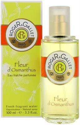 Roger & Gallet Fleur d´ Osmanthus erfrischendes Wasser für Damen