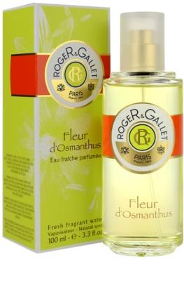 Roger & Gallet Fleur d´ Osmanthus água refrescante para mulheres 1