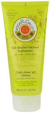 Roger & Gallet Fleur d´ Osmanthus osviežujúci sprchový gél