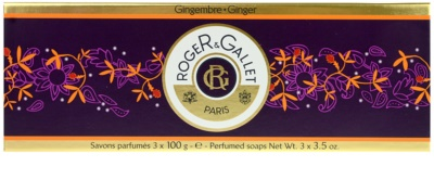 Roger & Gallet Gingembre lote cosmético I. 1