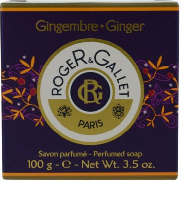 Roger & Gallet Gingembre sapun solid intr- o cutie 3