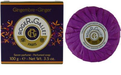 Roger & Gallet Gingembre tuhé mydlo v krabičke