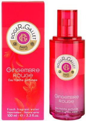 Roger & Gallet Gingembre Rouge освіжаюча вода для жінок